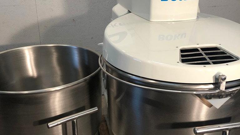 Boku spiral mixer SK 160 AK extendable with 2 x bowls