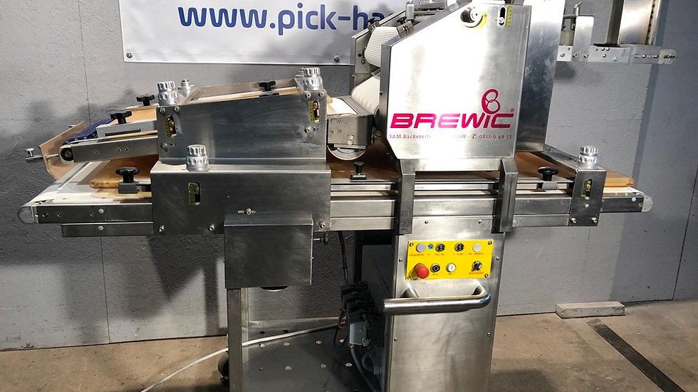 SAM Brewic wrapping machine - dough shipping