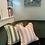 Thumbnail: Large Stripe Cushion Cover - Pink
