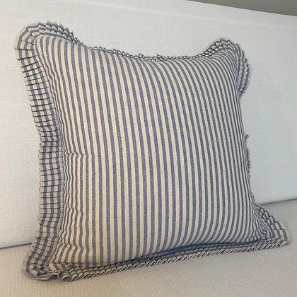 Oxford Cushion Cover - Blue