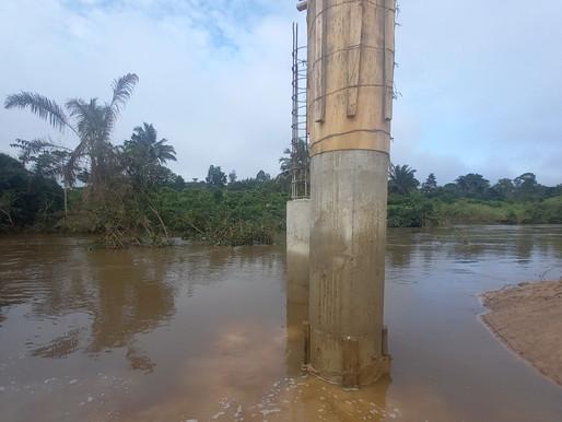 Starkregen in Ghana