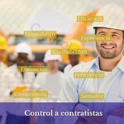 Control a contratistas