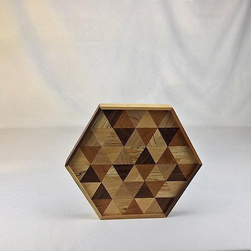multi wood piece octagon