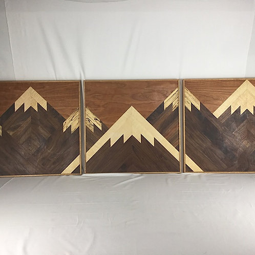 sequential mountain scene