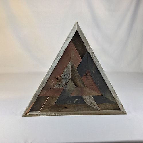 rustic trinity triangles