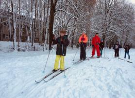Quand le paysage se couvre de blanc, les skis sortent de l'ISJ …