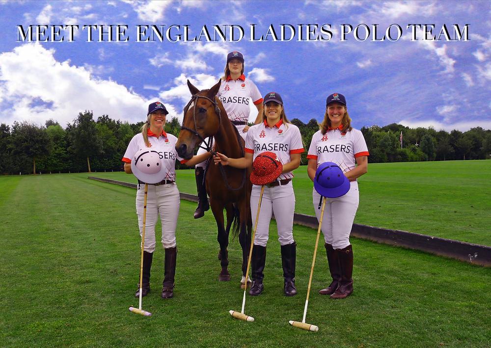 MEET THE ENGLAND LADIES POLO TEAM