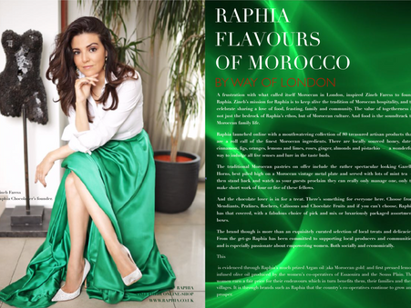 Raphia Flavours of Morocco By Way of London