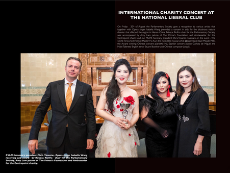 International Charity Concert at the National Liberal Club