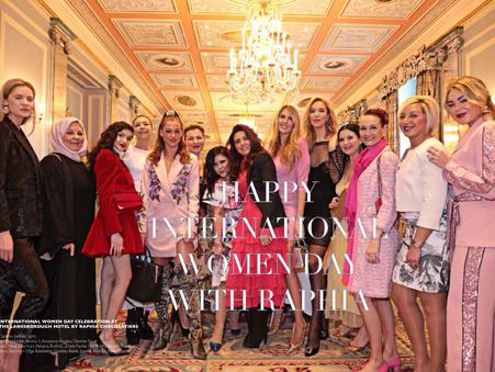 HAPPY INTERNATIONAL  WOMEN DAY with Raphia