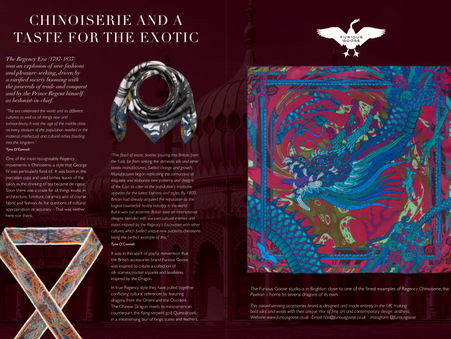 Chinoiserie and a 