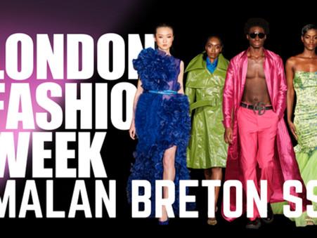 LONDON FASHION WEEK SS22 MALAN BRETON