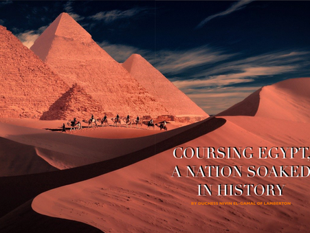 Coursing Egypt, a Nation Soaked in History