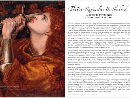ThePre-Raphaelite Brotherhood -And Their influence on painting in Britain