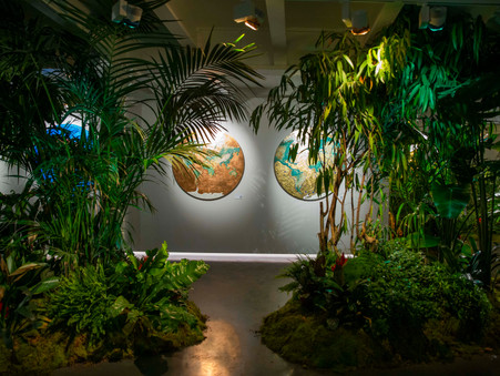 Artist Natalia Kapchuk Mesmerised Over 380 Guests On Her Opening Exhibition Night in London
