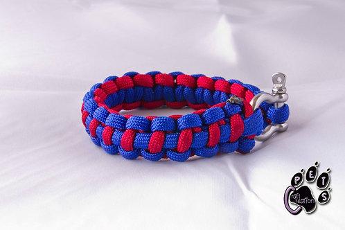 """Bracelet """"Fishtail"""" - Grosse corde."""