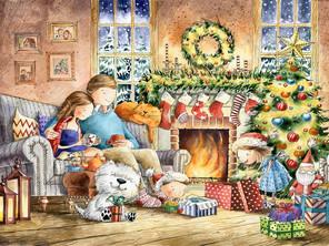 Самые красивые новогодние книги для детей с волшебными иллюстрациями.