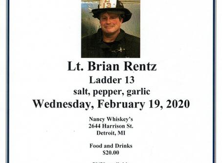 Lt. Brian Rentz