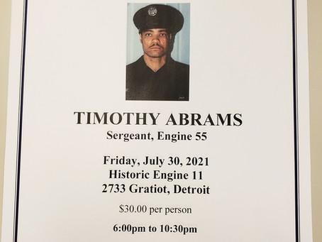 Sgt. Timothy Abrams