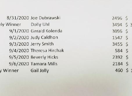 Calendar winners