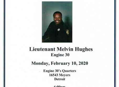 Lt. Melvin Hughes