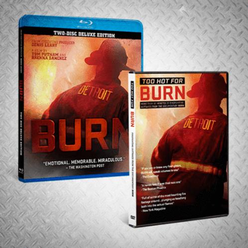 BURN Blu Ray/BURN Too Hot Bundle