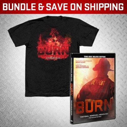 BURN DVD/Women's Tee