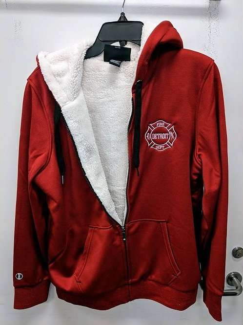 Sherpa Lined Zip Up