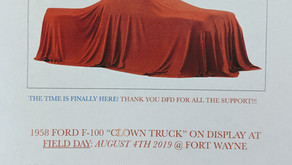 Clown Truck Unveiling