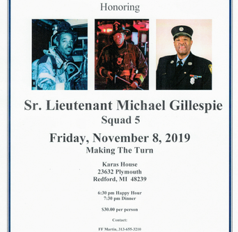 Sr. Lt. Michael Gillespie