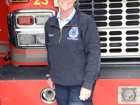 Detroit fire woman of the year.