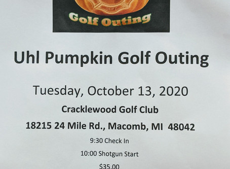 Uhl Pumpkin Golf