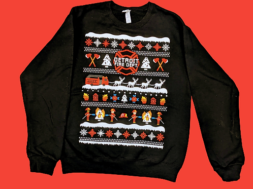 DFD Ugly Holiday Sweatshirt