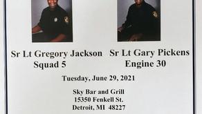 Sr Lt Gregory Jackson Sr & Lt Gary Pickens