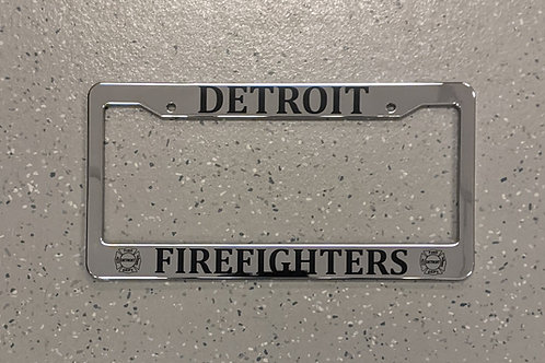 DFD license plate cover