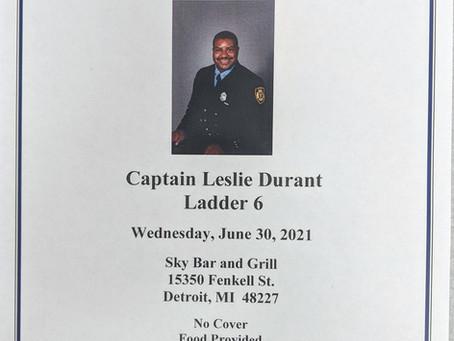 Captain Leslie Durant