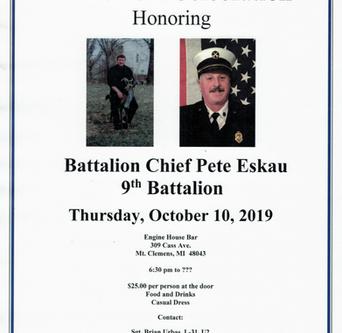 Chief Pete Eskau