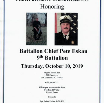 Chief Pete Eskau