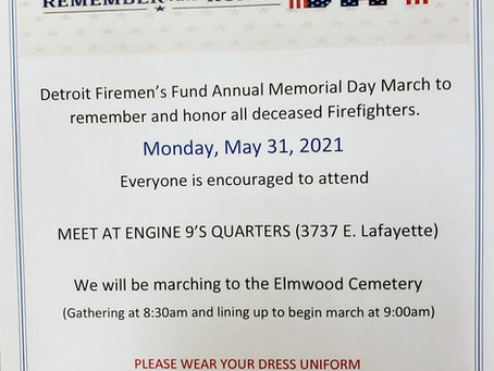 DFD Memorial March
