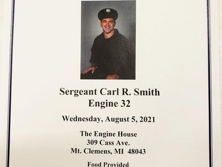 Sgt. Carl Smith ***THURSDAY Aug 5th