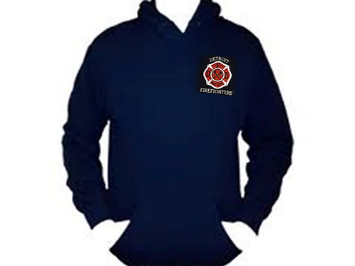 Hoodie Red or Blue Applique
