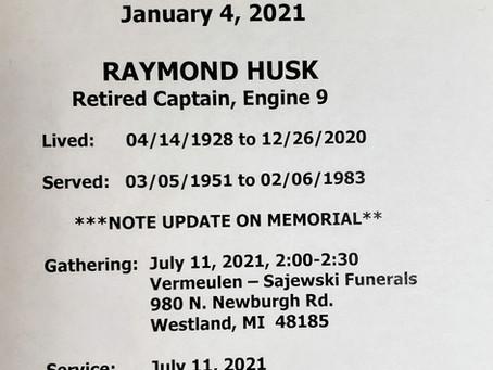 Raymond Husk