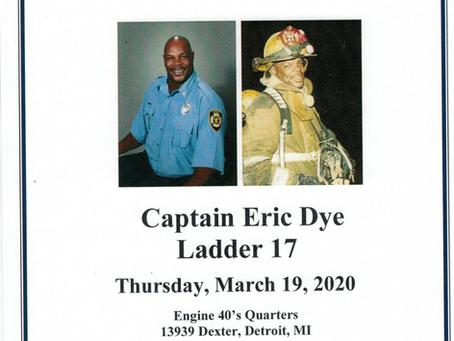 Capt. Eric Dye