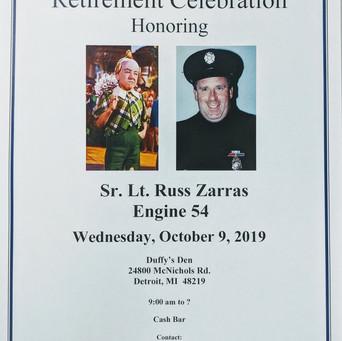 Sr. Lt. Russ Zarras