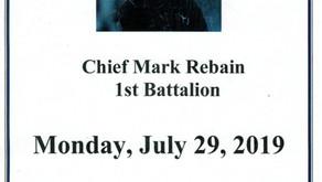 Chief Mark Rebain