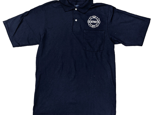 Navy Cotton Golf