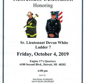 Sr. Lt. Devon White