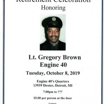 Lt. Gregory Brown