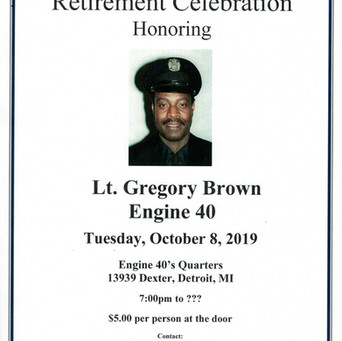 Lt. Gregory Brown