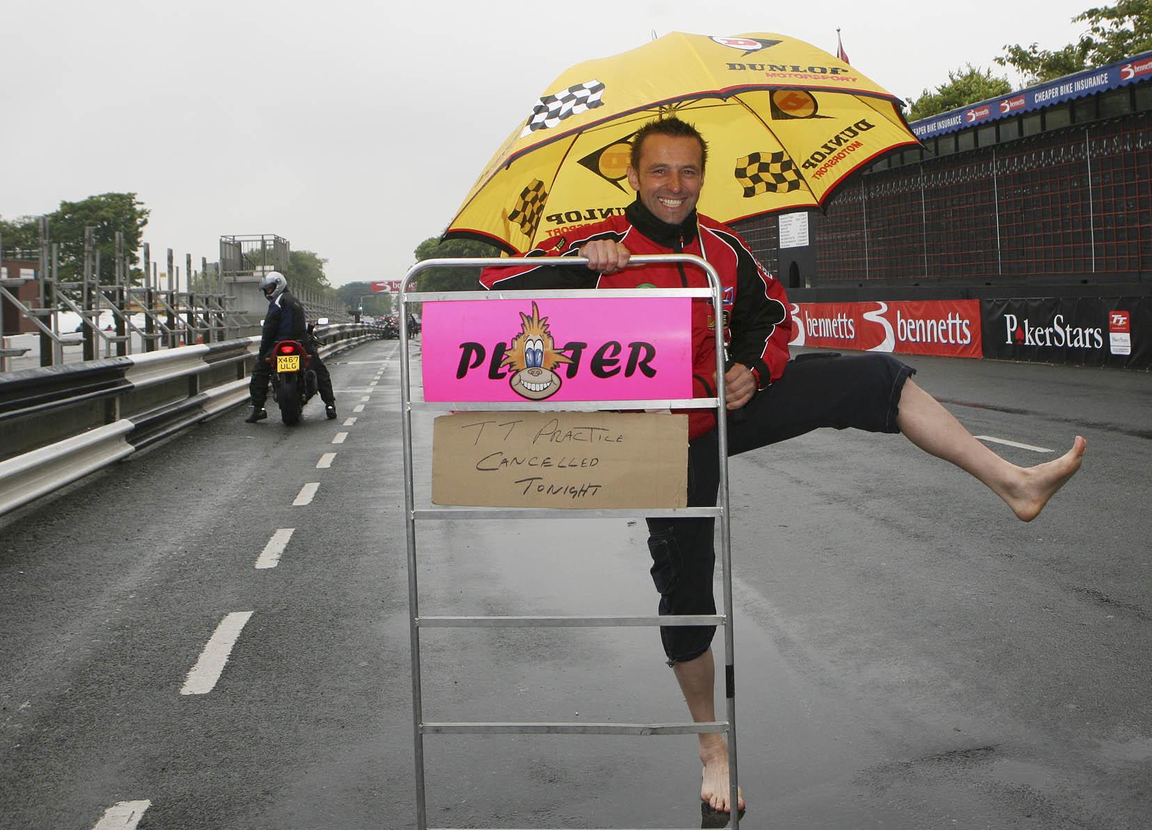 TT - Rain stops play!
